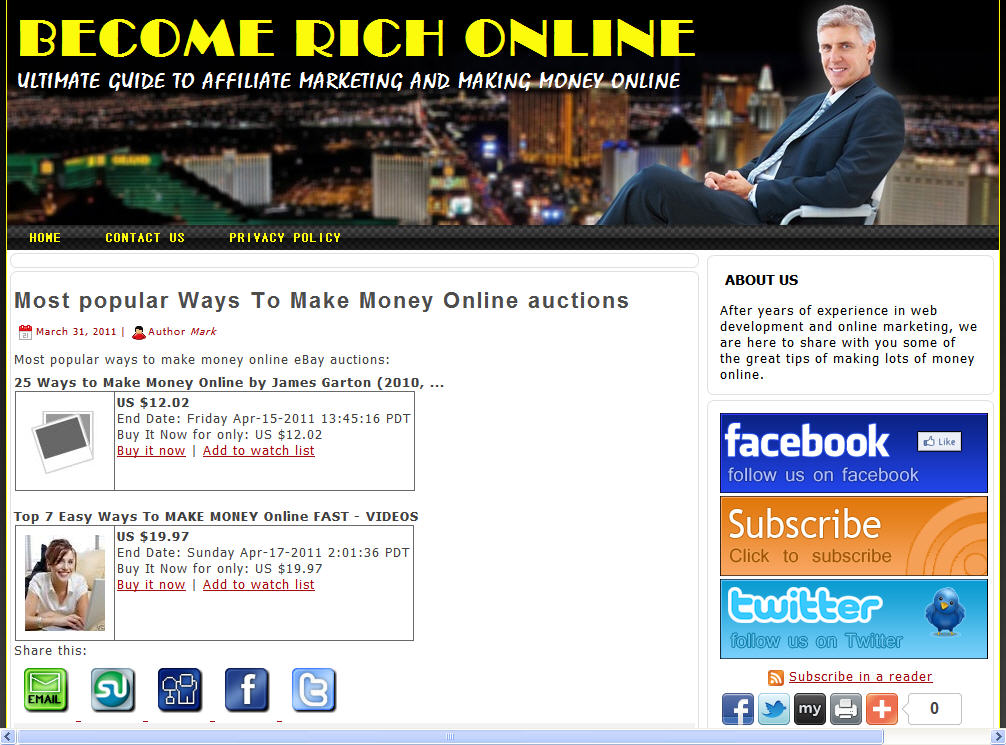 Become Rich Online