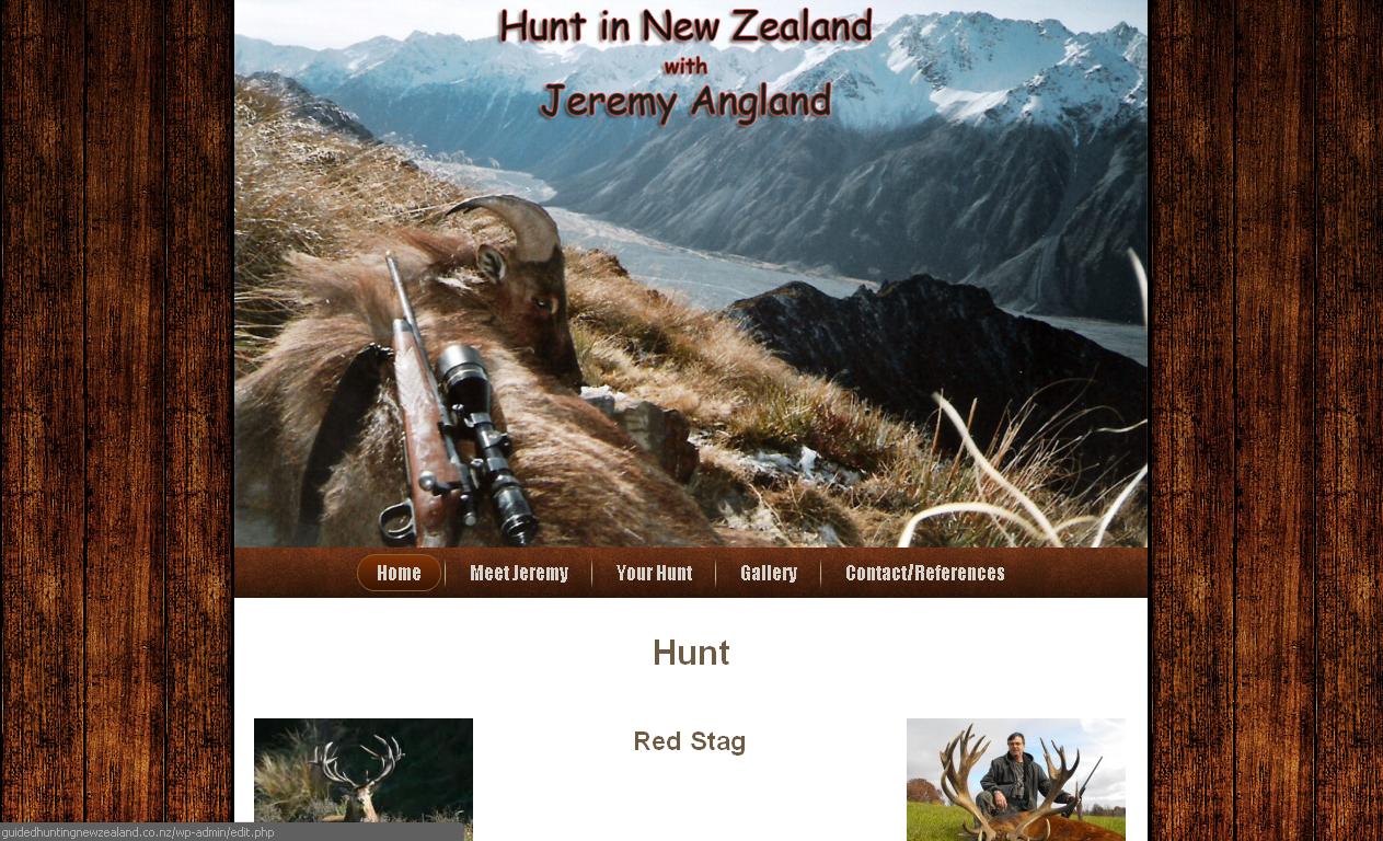 Guided Hunting New Zealand