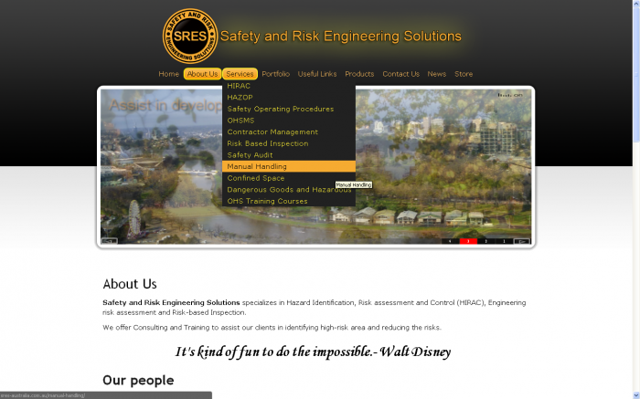webdesign for safety and risk engineering (1)