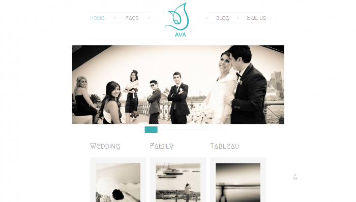 AVA Studio Website Design