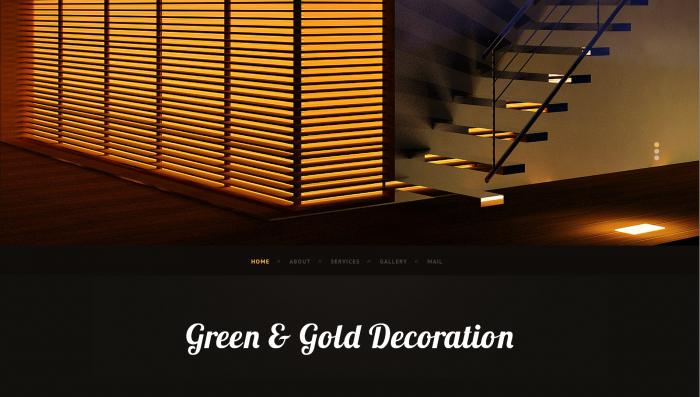 ggdeco website design 1