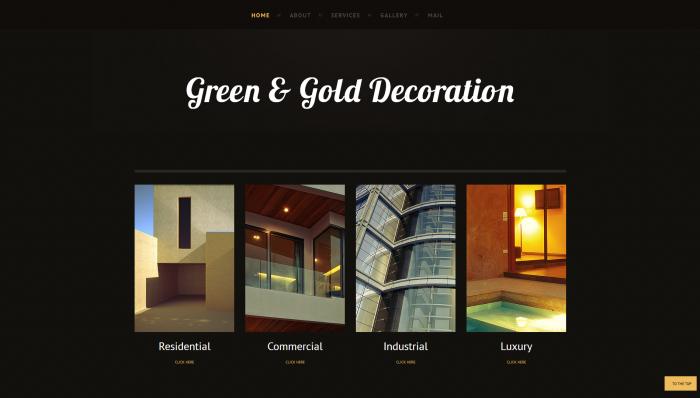 ggdeco website design 2