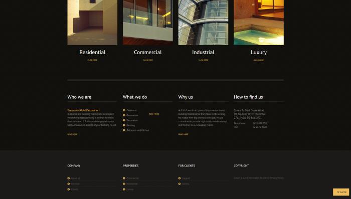 ggdeco website design 3
