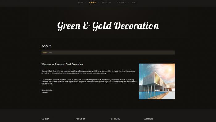 ggdeco website design 4