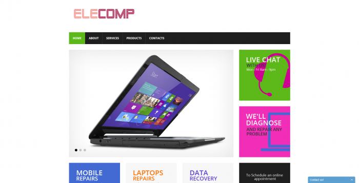 elecomp webdesign 1