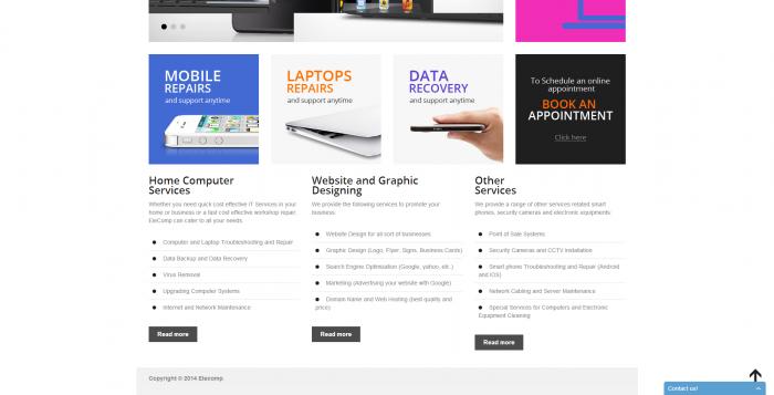 elecomp webdesign 2